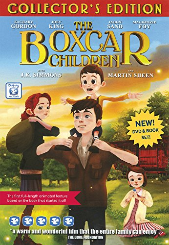 The Boxcar Children DVD and Book...