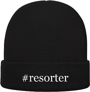 #Resorter - Soft Hashtag Adult Beanie Cap