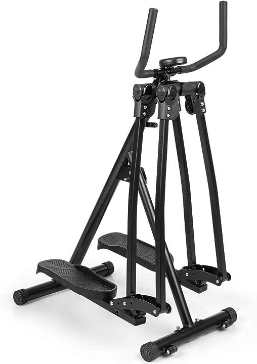 Crosstrainer, oscillazione verticale & orizzontale, allenamento tutto il corpo, pedane antiscivolo FIT14-90300-reag