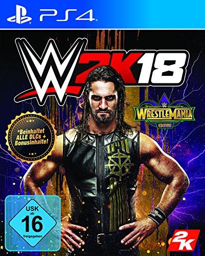 WWE 2K18 - WrestleMania Edition - PlayStation 4 [Importación alemana]