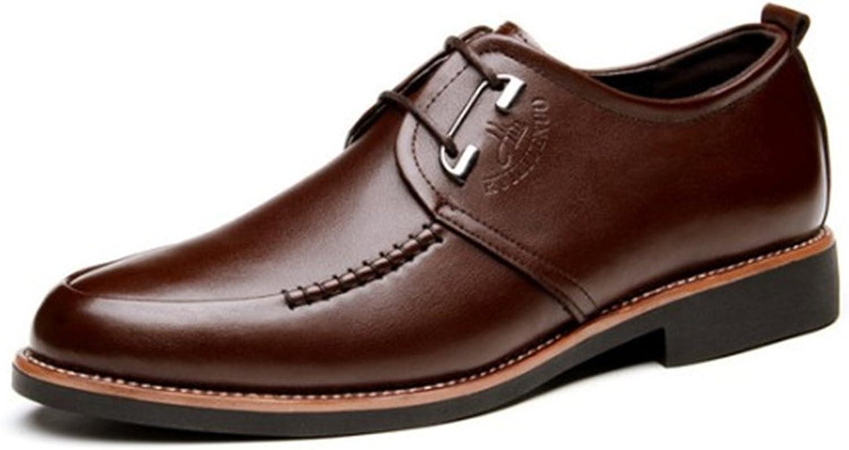 BININBOX Men's Modern Oxford Wing Tip Fashion Sneaker Casual Dress shoes Metal
