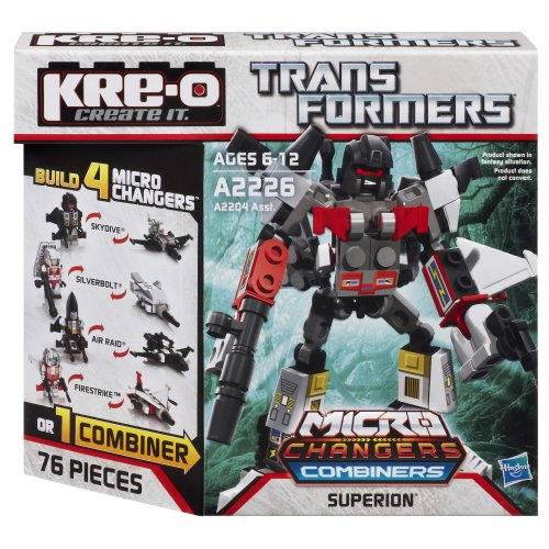 Kre-O Transformers Micro-Changers Combiners SUPERION