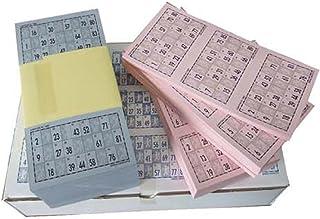 Cartones de Bingo troquelados para bingos de 90 bolas