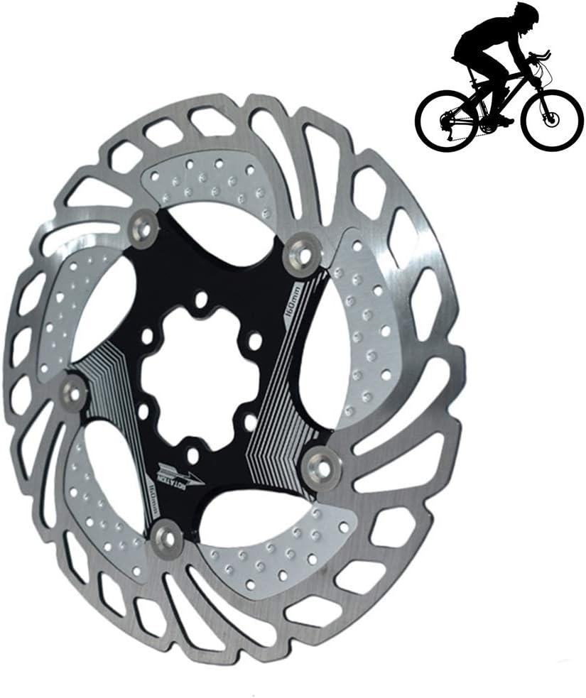 Mountain Bike Vbestlife 203mm//8 6 bulloni Freno a Disco rotori Bicicletta in Acciaio Inox Adatto per Bici da Strada