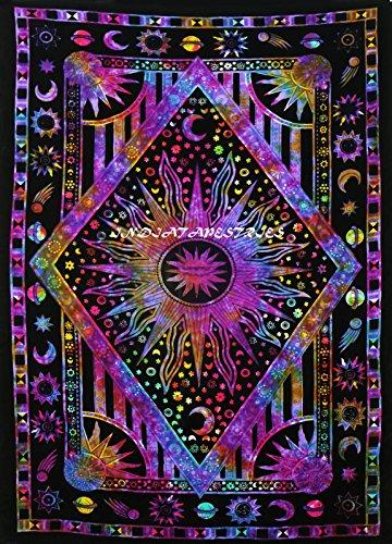 FUTURE HANDMADE Hecho a Mano en la India, para Colgar en la Pared, Manta de Playa, tapiceríaDESIGN 14
