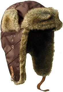 Kakadu Original- Made in Australia- Pilot Aviator Hat Mock Rabbit Fur Trapper Hunting Cap