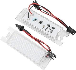 Duokon 2pcs 18 LED sinistra e destra luce targa auto lampada per Brera Bj.Giulietta Typ Spider