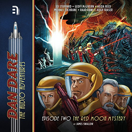 Dan Dare: The Red Moon Mystery audiobook cover art