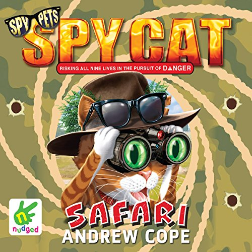 Spy Cat: Safari audiobook cover art