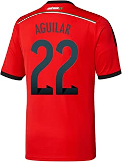 Aguilar #22 Mexico Away Jersey World Cup 2014 Red