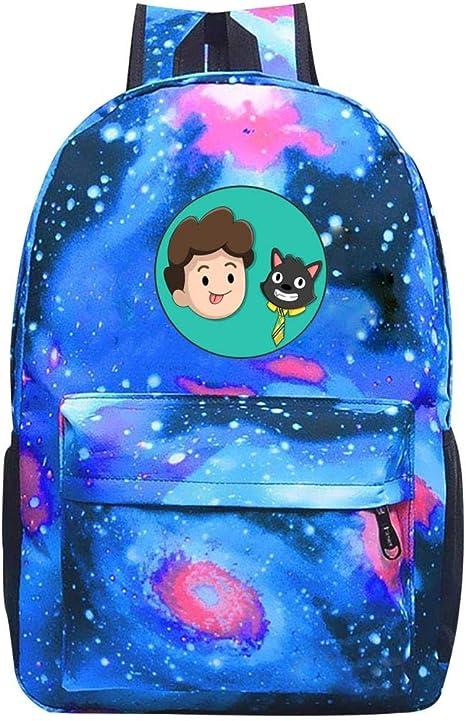 Ber-Serk Muhaps Star Sky School Backpack Unisex Galaxy Bookbags For Kids Teens Students Daypack One Size