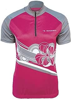 Diadora Women's Diadora Ladies Dana Cycling Top Shirt Pink