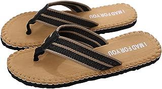 Outdoor Flip Flops for Men,SMALLE◕‿◕ Men's Flip-Flops Sandals Light Weight Shock Proof Slippers Quick Dry Sandals
