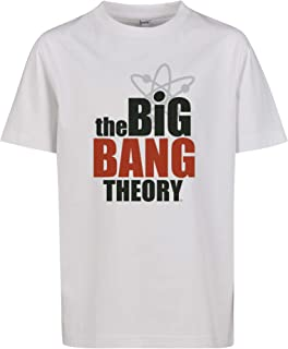 Mister Tee Kids Big Bang Theory Logo tee Camiseta para Niños