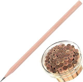 HB ołówek - 50 szt. wiaderko zapakowane naturalne drewniane sześciokątne ołówki wyższa twardość do pisania rysunku szkicow...