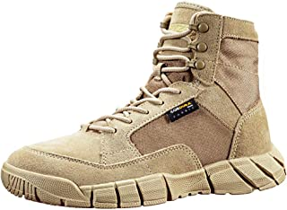 ANTARCTICA Men's 6 inch Lightweight Military Tactical Boots Breathable Waterproof for Jungle Desert Work Hiking Boots