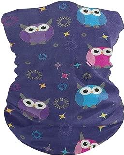 Funny Owl Star BirdBalaclava Womens Headband Scarf Mens Bandana,Muffler,Neck Gaiter,Magic,Hatliner Collars