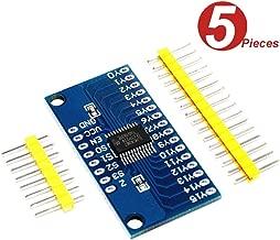 WINGONEER CD74HC4067 CMOS 16 Channel 16 CH Digital Analog Multiplexer Breakout Module for Arduino - 5pcs