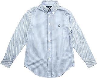 e15a4a6c31d51a Ralph Lauren Childrenswear Camicia Oxford Custom-Fit a Righe Bambino Junior  Boy MOD. 323600259