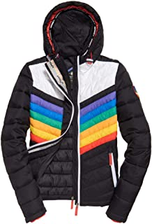 womens black superdry jacket
