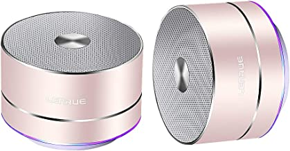 LENRUE Portable Wireless Bluetooth Speaker with Built-in-Mic,Handsfree Call,AUX Line,TF..