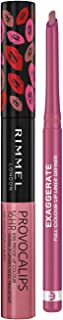Rimmel Long Lasting Lip Kit with Exaggerate Full Colour Lip Liner and Provocalips 16 HR Kissproof Lip Colour, Multi