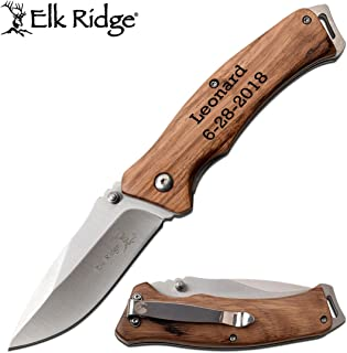 Best wood handle pocket knife personalized Reviews