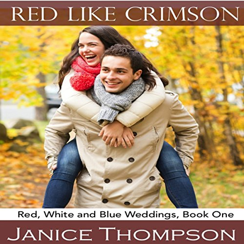 Red Like Crimson audiobook cover art