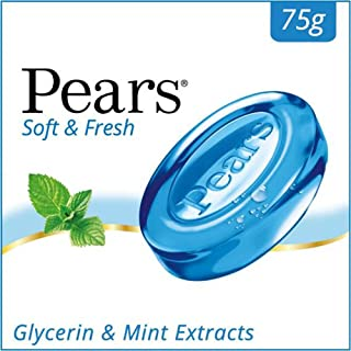 Pears Soft and Fresh Bathing Bar, 75g
