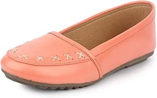 YAHE Women's Casual Italy Napa Belly Shoes Y-2267