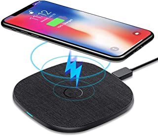 10W Wireless Charger, AGPTEK Qi Fast Wireless Charging Pad, 7.5W Charging Compatible with iPhone Xs Max/Xs/XR/X/8/8 Plus, ...