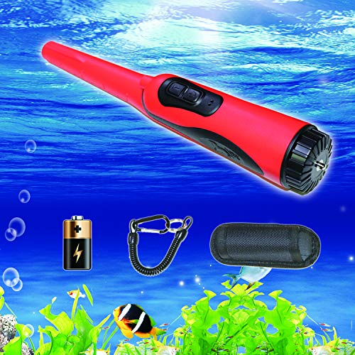 BRELLAA Hand Held Pinpointer Metal Detector Wand,Waterproof and Ultra High Sensitivity Pinpointing Finder Probe for Adults and Kids Treasure Finder Unearthing Tool