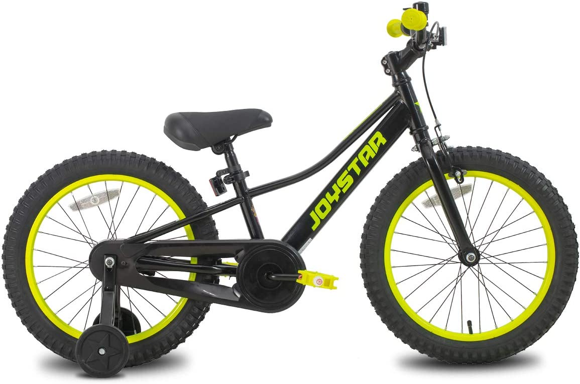 JOYSTAR NEO Kids Bike for 3-10 Years Old 12 14 16 18 20 Inch Kids Junior Bicycle with Front Caliper Brake & Training Wheels for Boys & Girls, Black, Blue, Pink : Sports & Outdoors