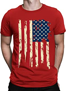 Details about  /New Hurley Family American Flag Cotton T-Shirt Size S to 3XL