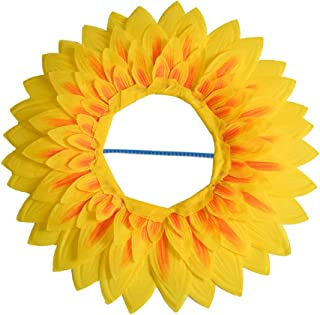 Props Performance Dance Celebration Funny Party Headgear Sunflower Games Festival(42cm)