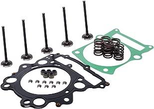 XMT-MOTO Engine Cylinder Head Intake,Exhaust Valve,Head Top End Gasket Spring Kit for YAMAHA Raptor 660R YFM660R 4X4