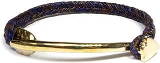スコーシャ SCOSHA WB300-2/ワックスコーティングコードブレスレット(ブラス)ARROW DYNAMIC BRACELET(BRASS)