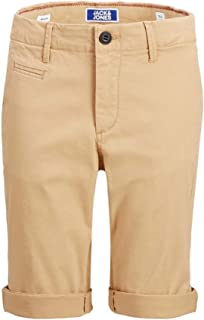 Bermuda Jack&Jones Niño 140 Marrón 12151511 JJIENZO CHINO SHORTS WW 01 JR TAN
