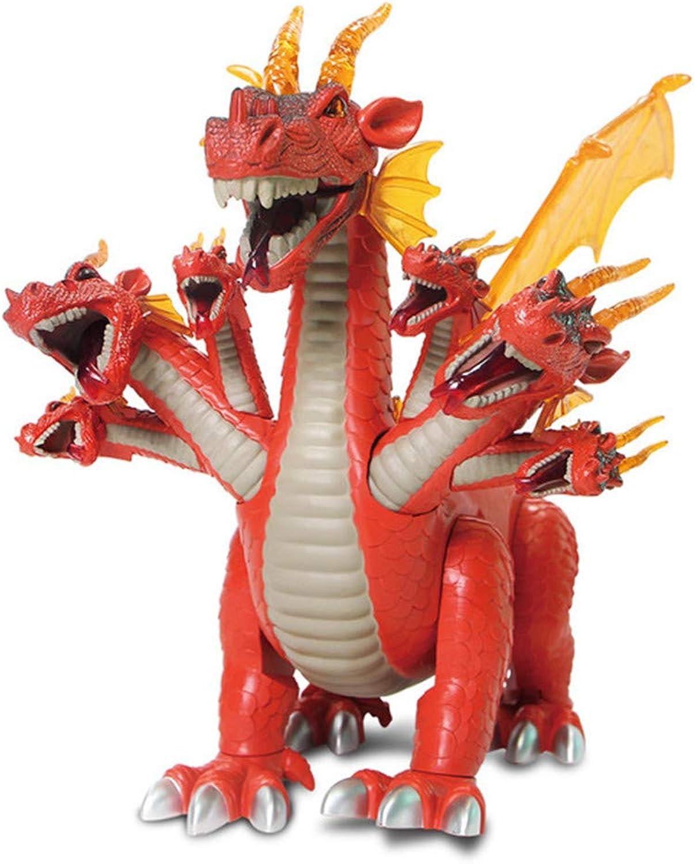 DHYBDZ Dinosaur giocattoli gree Simulation Walre Illuminated suono modellolo di Dinosauro Elettrico Giocattoli educativi per Bambini per Le Ragazze dei Ragazzi Regali di Compleanno di Natale