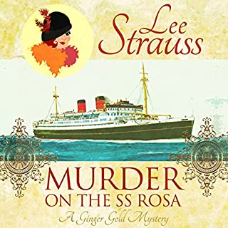 Murder on the SS Rosa audiobook cover art