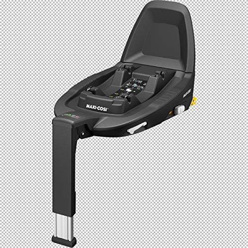Maxi-Cosi Base Isofix 3wayFix pour nacelle Jade, coques-auto Pebble Plus et Rock, sièges-auto Pearl Pro i-Size, Pearl Smart i-Size, Pearl One i-Size accessoires siège-auto, noir