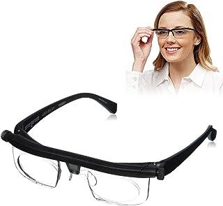 77d890a97a cuigu lente de fuerza ajustable lectura miopía gafas gafas variable Focus  Vision Eyeglass