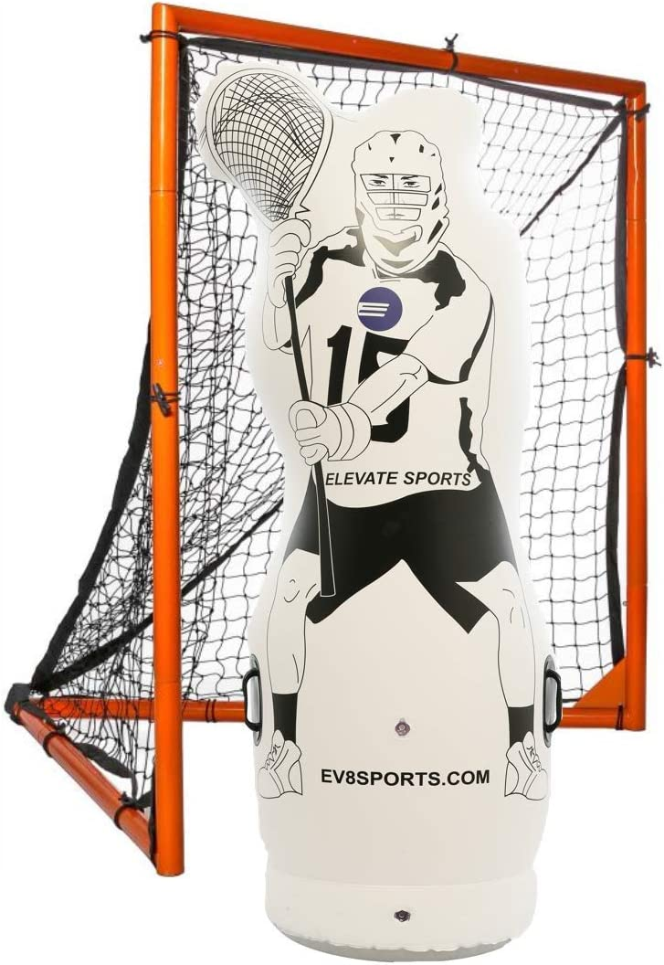Super beauty product restock quality top! Elevate 4.5 Outstanding ft Junior Inflatable Lacrosse Goalie Shot Blocker an