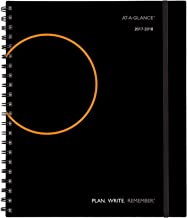 AT-A-GLANCE Academic Weekly/Monthly Appointment Book/Planner, July 2017 - June 2018, 8-3/4