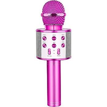 LET'S GO! Wireless Portable Handheld Bluetooth Karaoke Microphone - Best Gifts