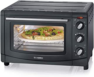 SEVERIN TO 2068 Horno y tostado, metal, Negro
