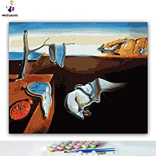 dali paint by numbers