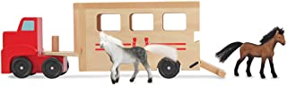 Melissa & Doug Horse Carrier , Red