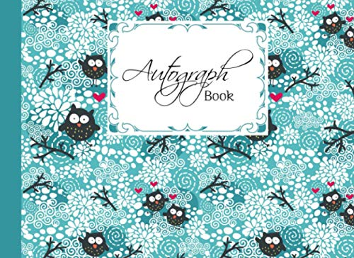 """Compare Textbook Prices for Autograph Book: Owls and Floral Cover 