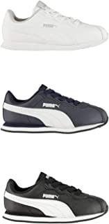 Official Brand Puma Turin II Trainers Juniors Boys Sneakers Kids Shoes Footwear